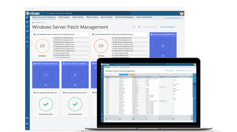 Patch Management Best Practices – Take a shortcut with vScope